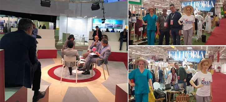 Thank You for Visiting Desta PLC at the apparelsourcing Paris (February 2020)